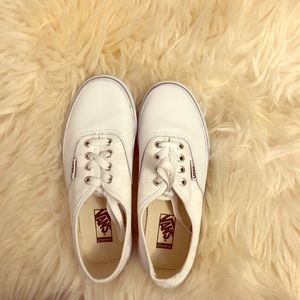 Vans Customized Leather/checkered Shoes